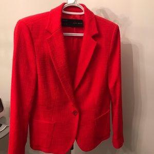 Vibrant Red Zara Blazer